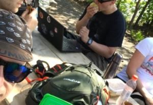 Coding in the woods