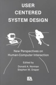 Book Cover - User Centred System Design(1986) by Norman and Draper