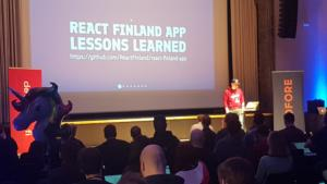 React Finland App, lessons learned